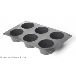 MOULE A MUFFINS (x6) EN SILICONE
